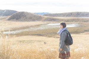 秋のリゾバ 草原
