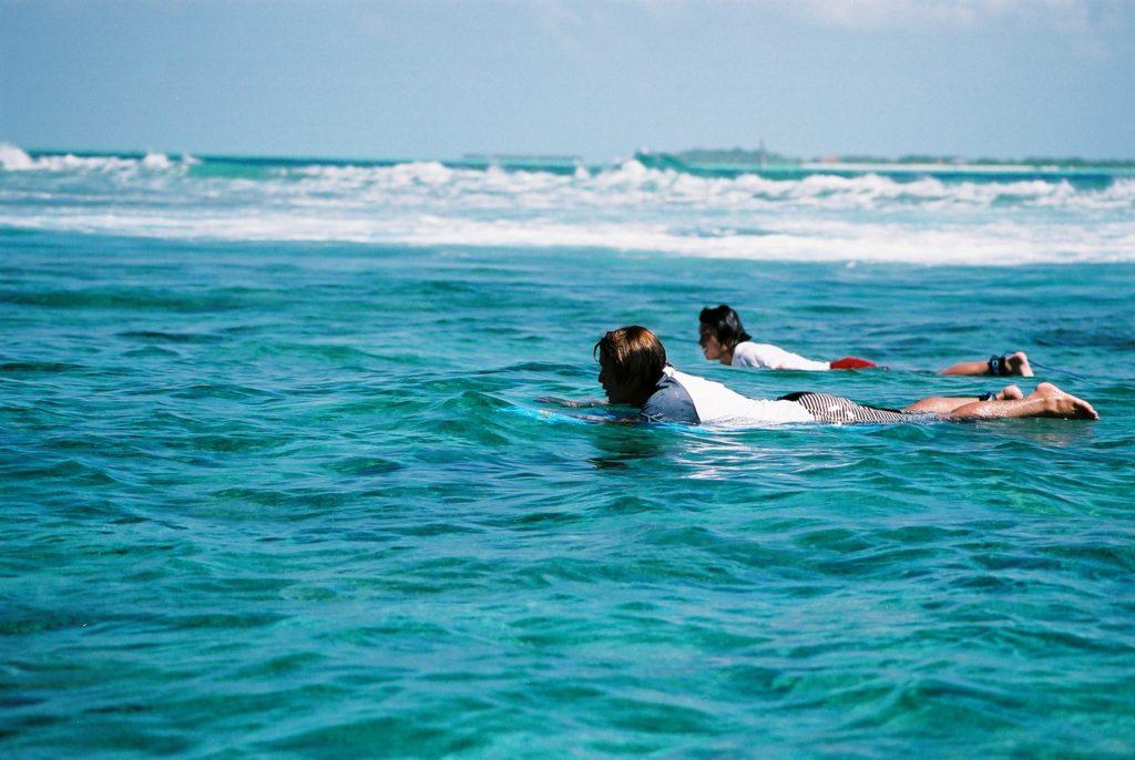 サーフィン リゾートバイト