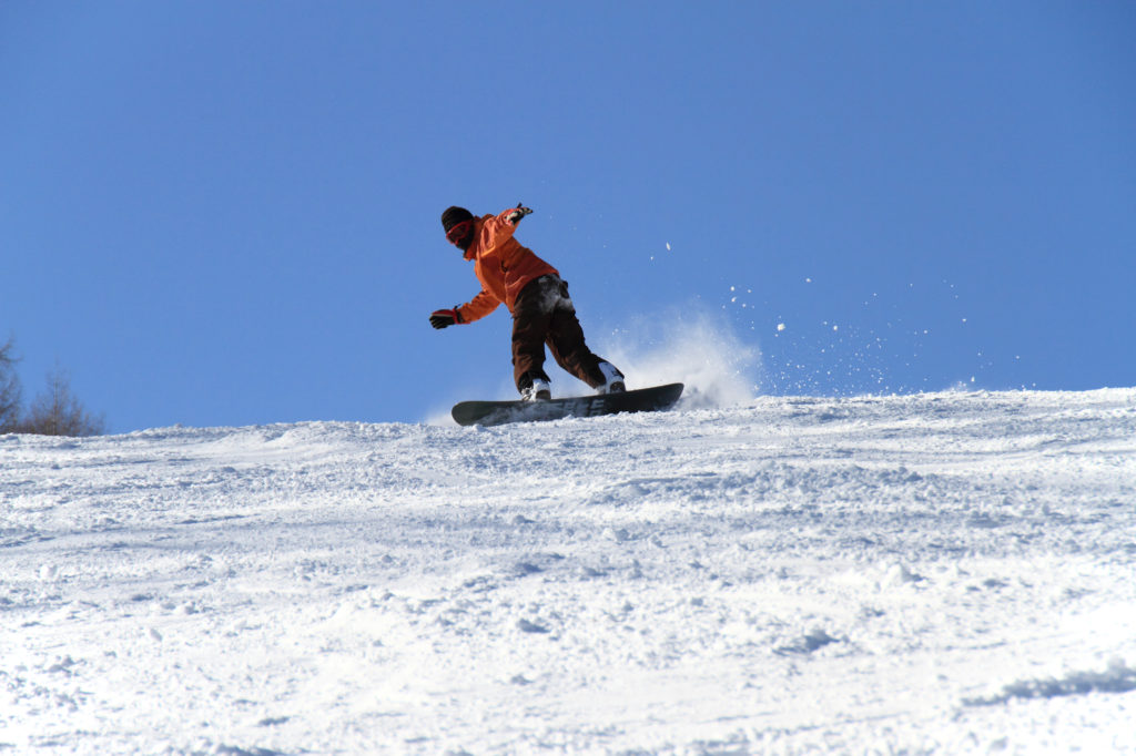 スノーボード東海スキー場バイト