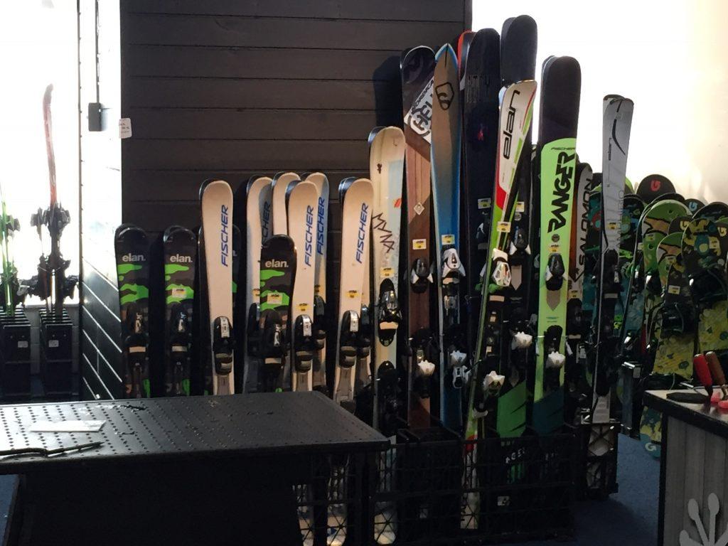 レンタルスキー場のバイト