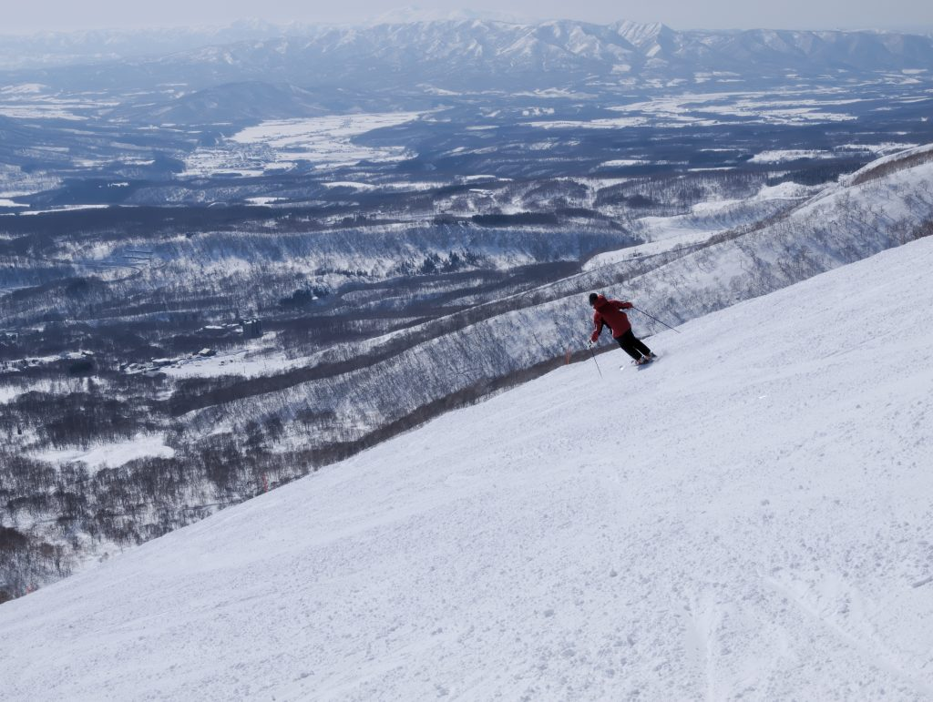 ニセコのスキー場でアルバイト