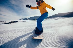 スノーボードのリゾバ