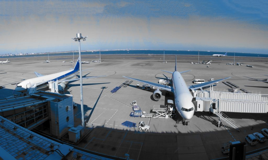 リゾバ飛行機