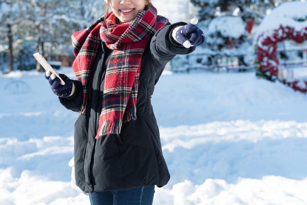 冬リゾバ女子