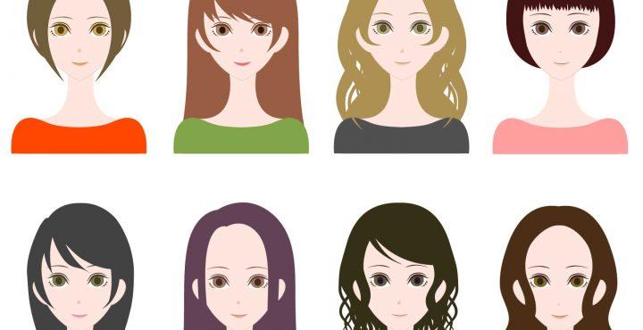 リゾートバイト髪型