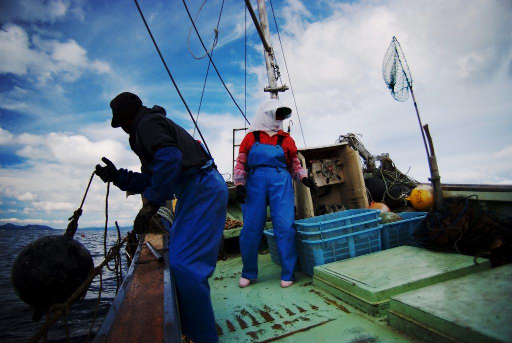 漁師のアルバイト