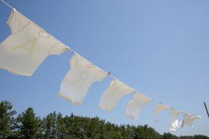 リゾートバイト洗濯