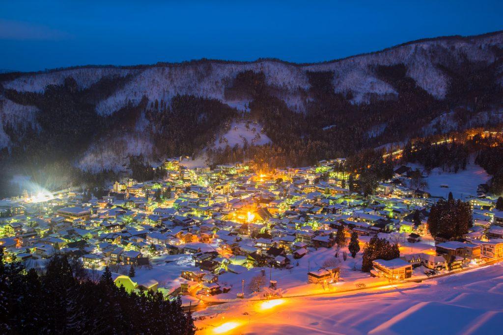 野沢村スキー場バイト