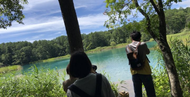 猪苗代夏バイト写真