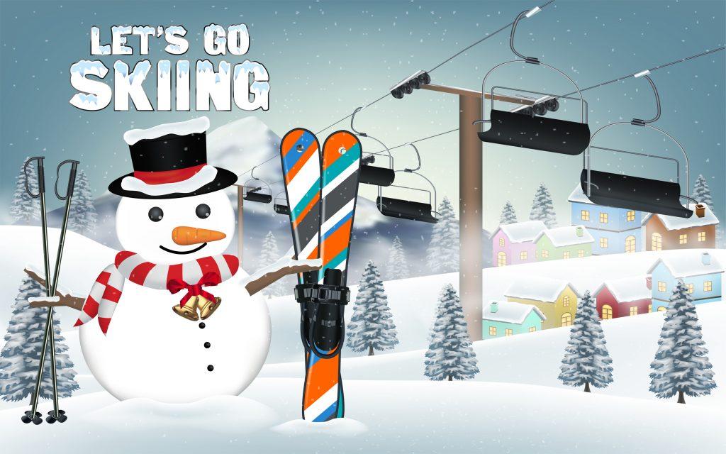 スキー場バイト期間