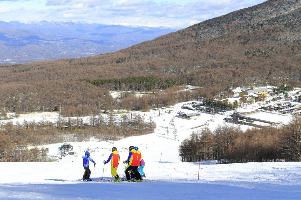 スキーインスタクターのアルバイト