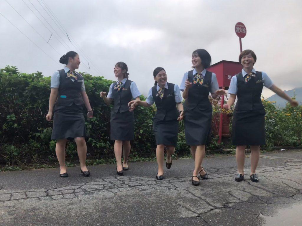 制服リゾートバイト湯沢