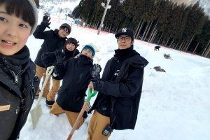 スキー場湯沢バイト