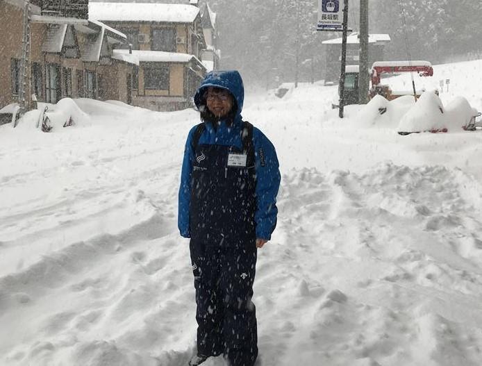 野沢温泉 バイトスキー