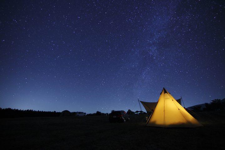 キャンプ場 リゾバ求人で