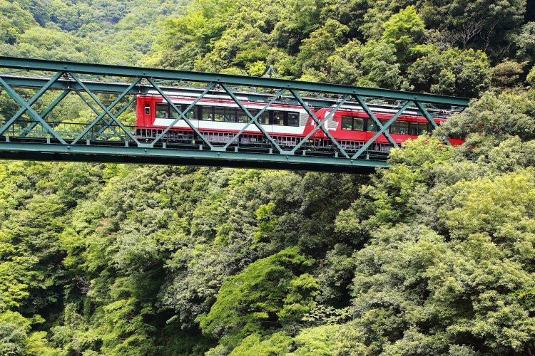 箱根の登山鉄道リゾバ