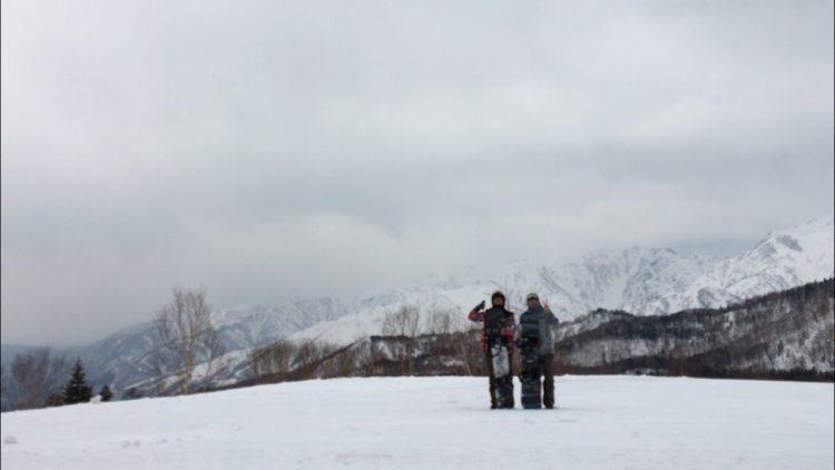 白馬のスキー場バイトです