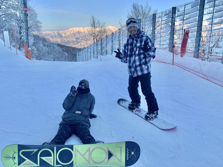 スキー場バイト休日は