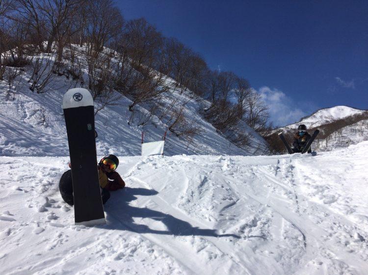 スキー場バイトの休み