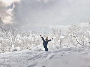 (北海道/ニセコ)最高のスキー場で思い切り滑りたくて始めたスキー場バイト