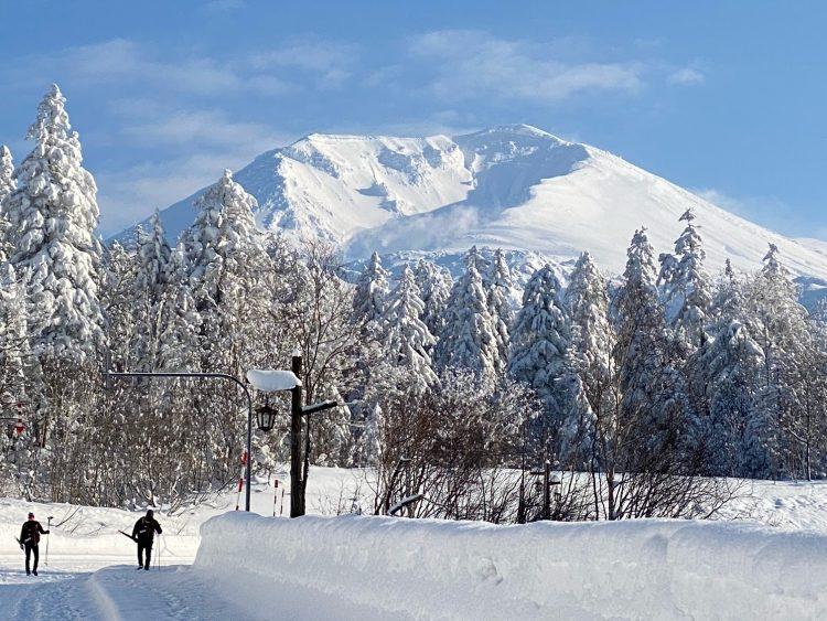 北海道旭岳の仕事