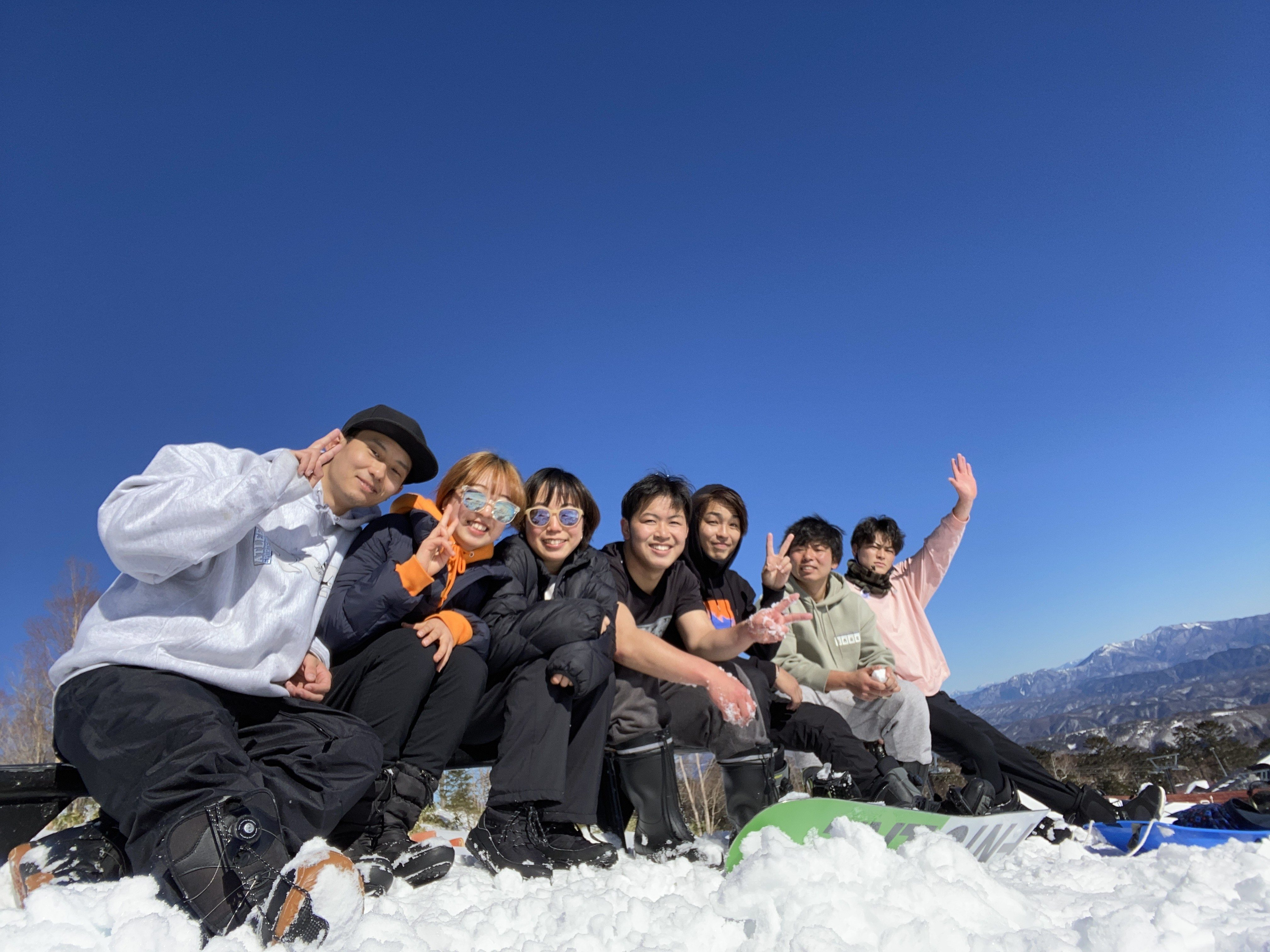 (長野県/御岳)毎日がとても楽しく過ごせたスキー場バイト